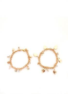 Προσφορά:  DK handmade accessories - Σετ 2 Βραχιόλια DK HANDMADE με8,80€