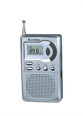 Blaupunkt - Ραδιόφωνο Τσέπης Ψηφιακής Ένδειξης KCHIBO