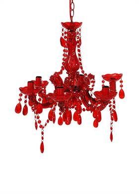 Προσφορά:  Modern Loft - Φωτιστικό SILA κόκκινο με81,00€