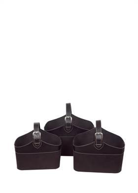 Προσφορά:  Modern Loft - Εφημεριδοθήκη SILA μαύρη 37.5x27.5x27 με28,00€