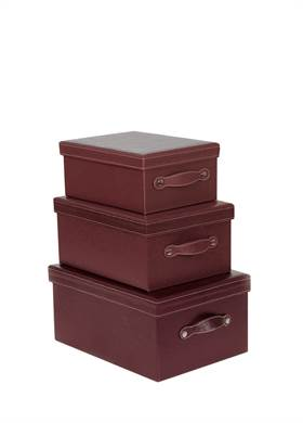 Προσφορά:  Modern Loft - Σετ 3 κουτιά SILA μωβ με39,00€