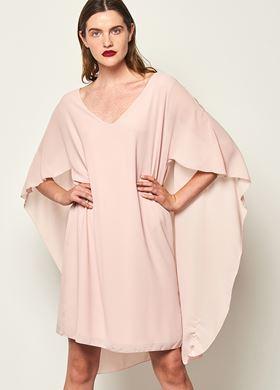 Γυναικείο σομόν Φόρεμα LYNNE