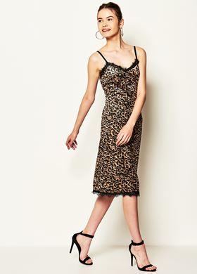 Γυναικείο μαύρο Φόρεμα LYNNE
