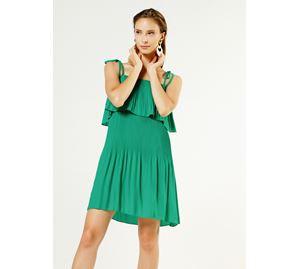 Bsb Vol.4 - Γυναικείο Πλισέ Φόρεμα BSB