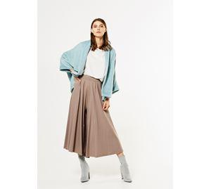 Bsb Vol.4 - Γυναικείο Παντελόνι BSB σε κάμελ χρώμα