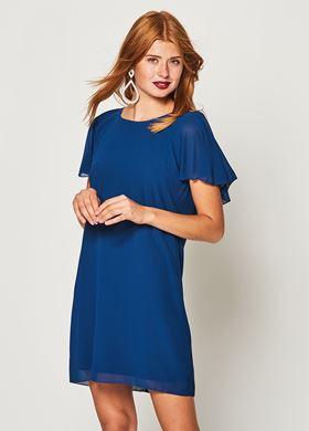 Γυναικείο Φόρεμα LYNNE σε σκούρο μπλε χρώμα