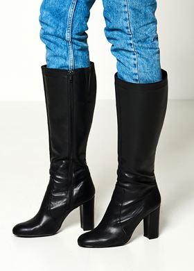 Γυναικείες μαύρες Μπότες LYNNE