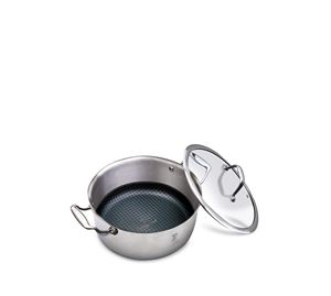Let's Cook! - Αντικολλητική κατσαρόλα με καπάκι 24cm Berlinger Haus