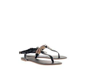 Shoes Fever - Μαύρα Δερμάτινα Σανδάλια Arte Piedi shoes fever   γυναικεία υποδήματα