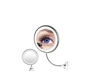 World Of Beauty - Μεγεθυντικός Καθρέπτης Με Βεντούζα Και Led Φωτισμό Aria Trade