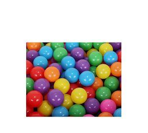 Children's World - Σετ Χρωματιστά Μπαλάκια 100 Τεμ. Aria Trade