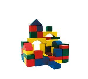 Children's World - Σετ Ξύλινα Τουβλάκια 100 Τεμ. Marionette wooden toys