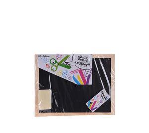 Children's World - Παιδικός Μαυροπίνακας Με Κιμωλίες Και Σφουγγάρι Aria Trade