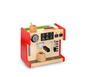 Children's World - Ξύλινο Παιδικό Παιχνίδι Coffee Shop 2 Σε 1 Marionette wooden toys