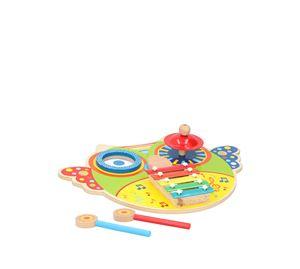 Children's World - Παιδικό Ξυλόφωνο Με 5 Πλάκες Νότες Marionette wooden toys