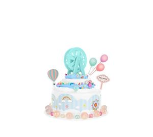 Children's World - Σετ Παιχνίδι Κατασκευής Cake Με Βάση Και Αξεσουάρ Aria Trade