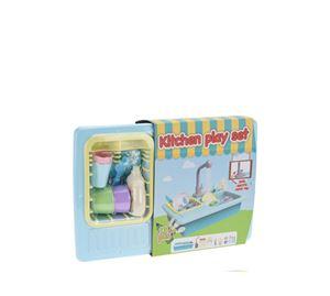 Children's World - Σετ Παιδικό Παιχνίδι Νεροχύτης 13 Τεμ. Aria Trade