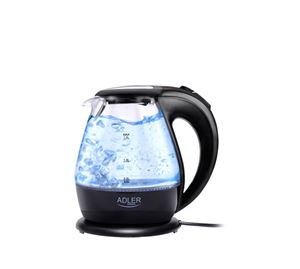 Let's Cook! - Γυάλινος Βραστήρας Νερού Με Φωτισμό Led 1.5L Adler