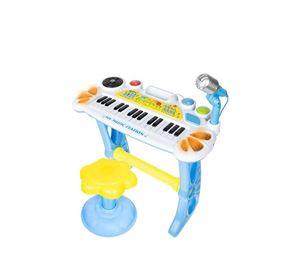 Children's World - Παιδικό Πιάνο Με Σκαμπό Και Μικρόφωνο Aria Trade