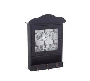 Home Decoration - Ξύλινη Επιτοίχια Κλειδοθήκη Aria Trade