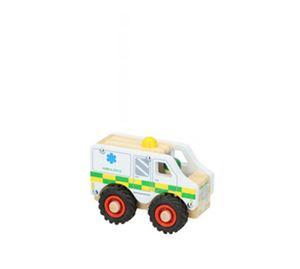 Children's World - Ξύλινο Παιχνίδι Ασθενοφόρο Marionette wooden toys