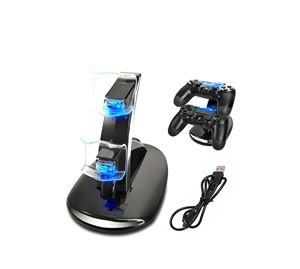 Time To Play - Βάση Φόρτισης Χειριστηρίων Playstation 4 Με LED Aria Trade