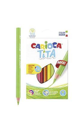 Σετ Οικολογικές Ξυλομπογιές Carioca