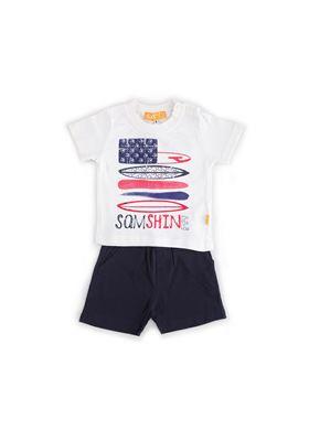 Παιδικό Σετ Σορτς-Μπλούζα SAM 0-13