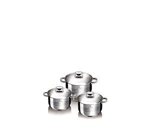 Kitchen Diamonds - Σετ Αντικολλητικά Μαγειρικά Σκεύη 6 Τεμ. Blaumann kitchen diamonds   κουζινικά είδη