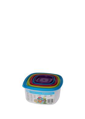 Σετ 10 τεμ. Πλαστικά Τάπερ-Φαγητοδοχεία Cb