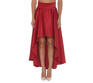 Lynne Vol.2 - Κόκκινη Ασύμμετρη Φούστα LYNNE lynne vol 2   γυναικείες φούστες