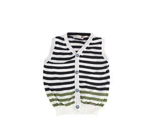 Juicy Couture & More - Ριγέ Παιδικό Γιλέκο MONNALISA juicy couture   more   παιδικά μπουφάν