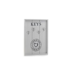 Arti Casa - Ξύλινη Κλειδοθήκη Homania