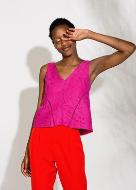 Γυναικεία Αμάνικη Μπλούζα BSB