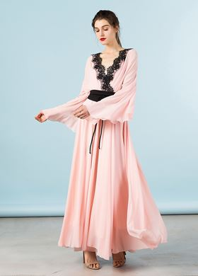 Γυναικείο σομόν Φόρεμα BSB