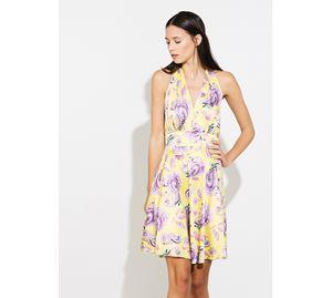 Bsb Vol.7 - Γυναικείο Φόρεμα κίτρινο BSB