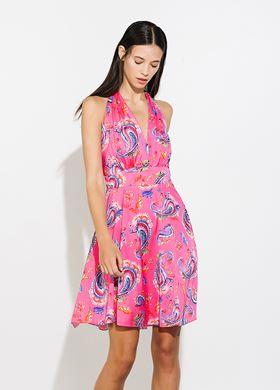 Γυναικείο φούξια Φόρεμα BSB