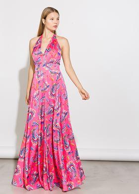 Γυναικείο Φόρεμα φούξια BSB