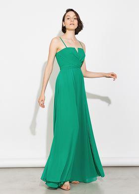 Γυναικείο πράσινο Φόρεμα BSB