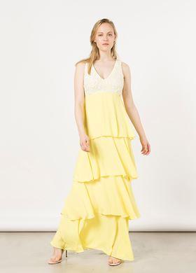 Γυναικείο μονόχρωμο Φόρεμα BSB