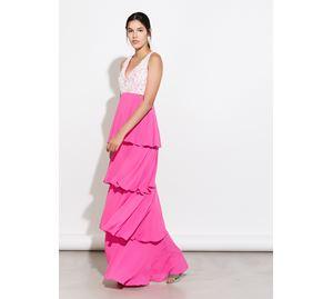 Bsb Vol.6 - φούξια Γυναικείο Φόρεμα BSB