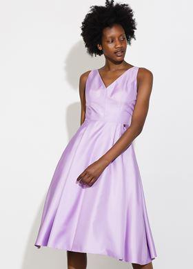 Γυναικείο Φόρεμα λιλά BSB