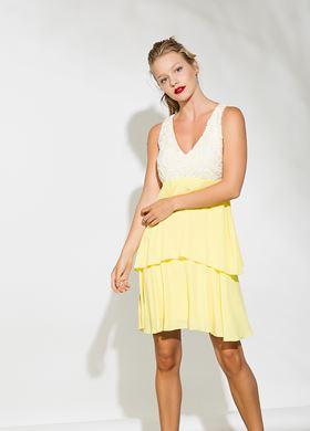 Γυναικείο Φόρεμα BSB μονόχρωμο