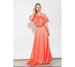 Bsb Vol.7 - Γυναικεία πορτοκαλί Φούστα BSB