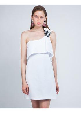 Γυναικείο Φόρεμα LYNNE λευκό