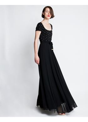 Γυναικείο Φόρεμα LYNNE μαύρο