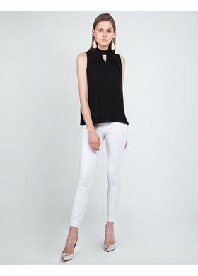 Γυναικείο Παντελόνι LYNNE σε λευκό χρώμα