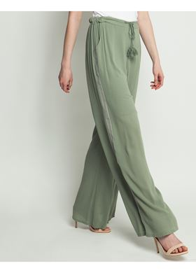 Γυναικείο Παντελόνι LYNNE χακί χρώμα