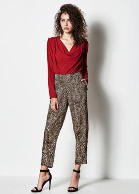 Γυναικείο Παντελόνι LYNNE Animal print σχέδιο