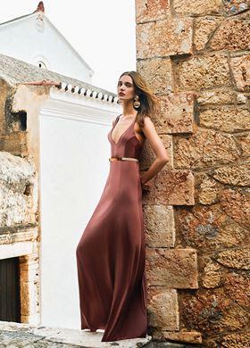 Μακρύ Γυναικείο Φόρεμα LYNNE